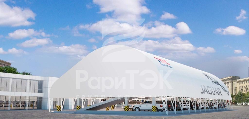 Дизайн-проект автомобильного паркинга