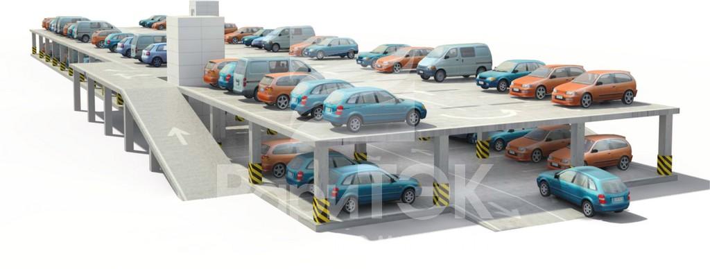 Паркинг без крыши